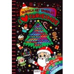 Scratch Art Sparkles I Love Christmas (Min Ord Qty 2) ***Coming October 2021***