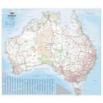 Hema Australia Map Laminated 1000x875mm (Min Order Qty 1)