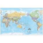 Hema World Map Laminated 1000x650mm (Min Order Qty 1)