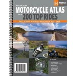 Australia Motorcycle Atlas with 200 Top Rides #6 (Reprint) Min Order Qty 1 - Available June 2019