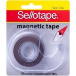 Sellotape Magnetic Tape on dispenser 19mm x 3m (Min order Qty 6)