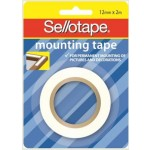 Sellotape Mounting Tape 12mm x 2m (Min order Qty 6)