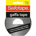 Sellotape Gaffa Tape 48mm x 10m (Min Order Qty 6)