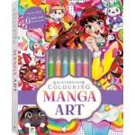 Kaleidoscope Colouring Kit: Manga (Min Order Qty 2)
