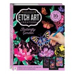 Etch Art Kit: Butterfly Garden (Min Order Qty 2) ***Coming May 2021***