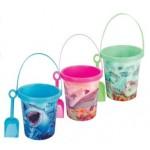 Beach Bucket & Spade Set 19cm (Min Order Qty 3)