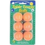 Table Tennis Balls Pack of 6 (Min Order Qty 3)