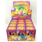 Easter Growing Chicken Eggs Display of 12  (Min. Order 1)