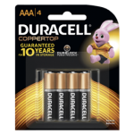 Duracell  AAA4 Card Batteries Christmas Promotion Pack of 12 (Min Order Qty 1)