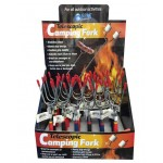 Telescopic Camping Forks Display of 24 (Min Order Qty 1)