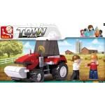 Sluban Farm Tractor 103 Pce
