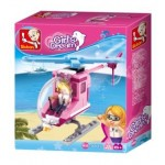 Girls Dream Helicopter 78 pce