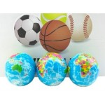 Earth Squeeze Stress Ball Display of 24 (Min Order Qty 1 Display)