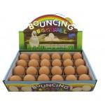 Egg Bouncing Ball - Display Box of 24 (Min Order Qty 1 Display)