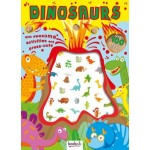 Dinosaurs Puffy Stickers Activity Books (Min Order Qty 2)