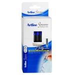 ARTLINE SMOOVE BALLPOINT PEN 1.0mm BLUE Box of 50 (Min Order Qty 1)