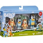 Bluey Friends 4 Pack Figurines S4 Assorted (Min Order Qty 2)
