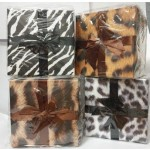 Gift Boxes Includes 3 Assorted Sizes Happy Animal Skin Design **Sold as 4 Sets** (Min Order Qty 1)