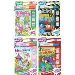Inkredibles Invisible Ink Roarsome Dinosaurs & Unicorns OR Kawaii and Diggers & Dumpers Pk 6 (Min Order Qty 1)