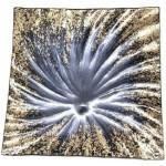 Glass Plate Dóro Dochia 19x19cm (Min Order Qty: Multiples of 2)