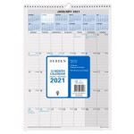 Collins 2021 Calendar Year 12 Month 577x394mm Wiro Calendar (Min Order Qty 5) **Available August 2020**