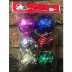 Christmas Baubles - Pack of 6