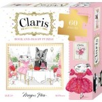 Claris The Chicest Mouse in Paris Book and Puzzle Box Set (Min Order Qty 2)