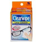 Clearwipe Lens Cleaner 20 Wipes Display of 6 (Min Order Qty 1 display)