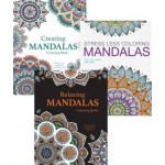 Adult Mandalas Colouring Assorted Pack of 12 (Min Order Qty 1 Pack)