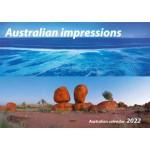 Australian Impressions 2022 Wall Calendar (Min Order Qty 5)