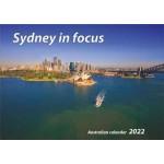 Sydney in Focus 2022 Wall Calendar (Min Order Qty 5)