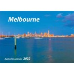 Melbourne 2022 Wall Calendar (Min Order Qty 5)