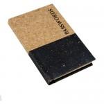 Dipped Cork Password Book A6 Black (Min Order Qty 2)