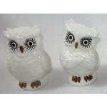 Owls Tannira 12cm - White (Min Order Qty: Multiples of 8)