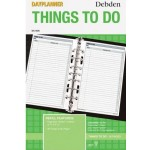 DK1006 Day Planner Refil 'Things to Do' (Min Order Qty 1)