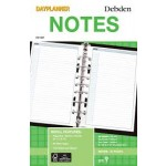 DK1007 Day Planner Refil 'Notes' (Min Order Qty 1)