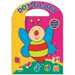 Dot to Dot Die Cut Colouring Books Assorted (Min Order Qty 12)