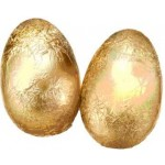 40g Gold Foiled Milk Chocolate Egg Box of 40 (Min Order Qty 1)