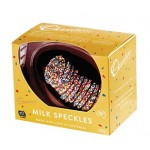 Chocolatier Hatched Egg Collection 120g Milk Chocolate Half Egg with Speckles Inside (Min Order Qty 2)