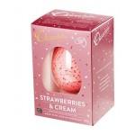 Chocolatier Indulgent Egg 150g Strawberries & Cream White Chocolate (Min Order Qty 2)