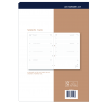 "COLLINS 2022 CALENDAR - DEBDEN DAYPLANNER REFILLS - A4 WEEKLY DATED (ONE YEAR) **Available August 2021** """" SPECIAL Order Item; Min Order Qty: 5 """""
