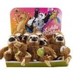 Cuddle Buddies Sloth Display of 12 (Min Order Qty 1)
