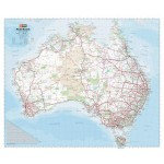 Hema Australia Handy Map Display Unit Includes 16 Pre-packaged Laminated Maps (Min Order Qty 1)