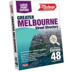 Melway 2021 Street Directory LARGE PRINT Edition #48  (Min Order Qty 1)