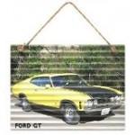 Ford GT 30x40cm Metal Garage Sign (Min Order Qty 3)