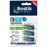 Bostic Fix & Glue Gel 3 x 1ml (Order in Multiples of 6)