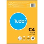 Tudor C4 Plainface Pocket Peel'n'Seal Gold Envelope 324x229mm Pack of 50