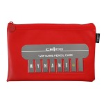 ***Special Order Item*** Celco Pencil Case Red - 1 Zip 225X140mm (Min Ord Qty 10)