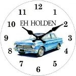EH Holden 17cm Glass Clock (Min Order Qty 3)
