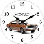 Holden Monaro 17cm Glass Clock (Min Order Qty 3)